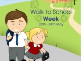 It's Walk to School Week!
